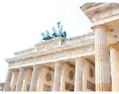 Brandenburg Gate Watercolor