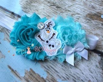 baby girls, Snowman headband, Baby girls Headbands, snowman headband, toddler, birthday headband, Princess headband, Frozen headband