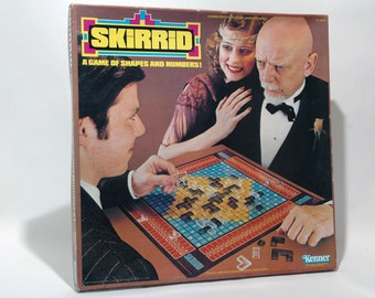 Skirrid Game of Shapes and Numbers from Kenner 1979 COMPLETE w some New Parts