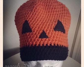 Pumpkin Beanie - Halloween