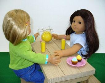 American Girl Doll Furniture / Picnic Table