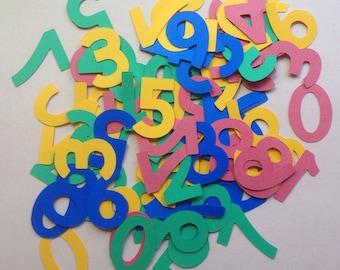 Reduced - Kid's FunFetti - Bright Numbers Confetti