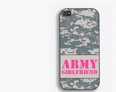Army Girlfriend Phone Case - Army Gifts - Milso - military girlfriend gifts - iPhone 4,4s,5,5s,5c,6,6plus; Galaxy S3,S4,S5,S6, iPod 4,5,6