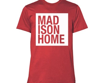 Sconnie - MadisonHome T-shirt - Heather Red