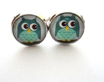 Cufflink Owl