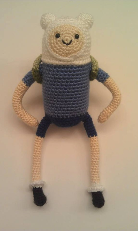 The Adventure Time - Finn, the Human (Pattern Only) - Instant download!