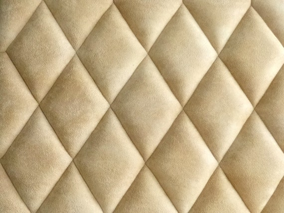 Items similar to Wall panels / headboard upholstered with Rhombuses on ...
