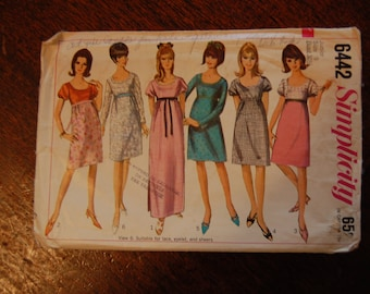 60's - 70's Dress Pattern