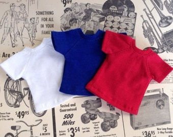 Sale* Neo Blythe Doll Outfit Dress Cloth - Lot of 3 Cool Colors  Chic Tshirts