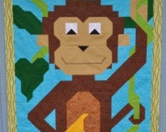 Monkey Quilt Pattern