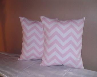 Handmade Curtain/Valance,54W x 15L, in Baby Pink/White Chevron/Zigzag, Nursery, Home Decor