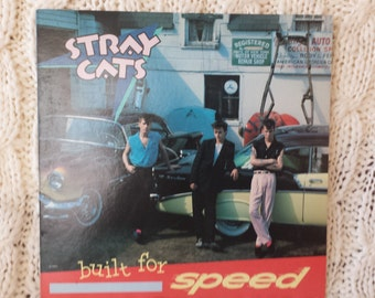 "Stray Cats- ""Built For Speed "" vinyl record"