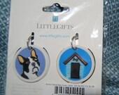 Key cover Dog collar charm Boston Terrier Dog house Pet supply