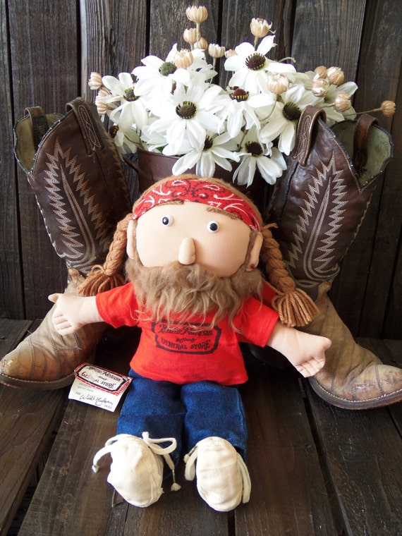 Vintage 80s Willie Nelson Concert Doll Authentic Original With