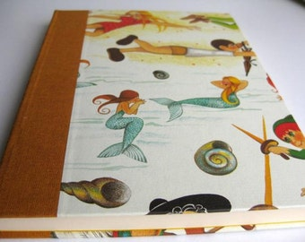 Childrens Painting Book Handbound Journal Diary Notebook Blank