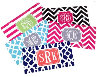 Monogrammed License Plate - Personalized License Plate - Custom Vanity Plate