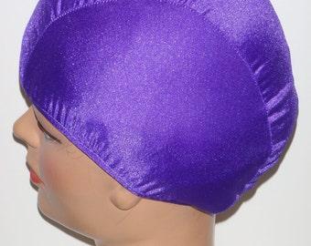 Purple Passion Lycra Swim Cap