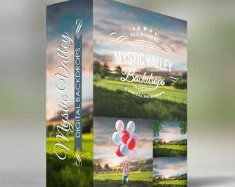 Mystic Valley - Digital Backdrops