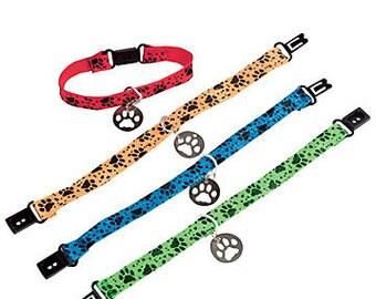 Paw Print Bracelet Set of 12