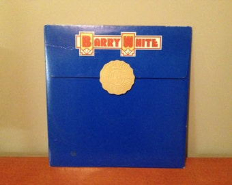 "Barry White ""The Man"" vinyl record"
