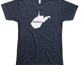 Homeland Tees Men's West Virginia Home T-shirt