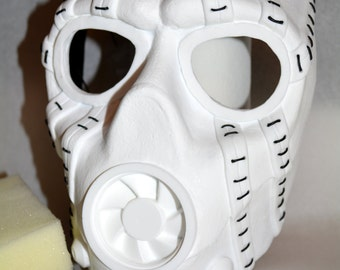 Borderlands Psycho Bandit Mask - Deluxe Unpainted Kit
