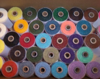 Crawford Waxed Irish Linen Thread/Cord