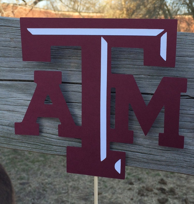 Texas Atm Aggie Whoop Gig Em Banner For Parties By