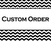 Custom Order for Daria