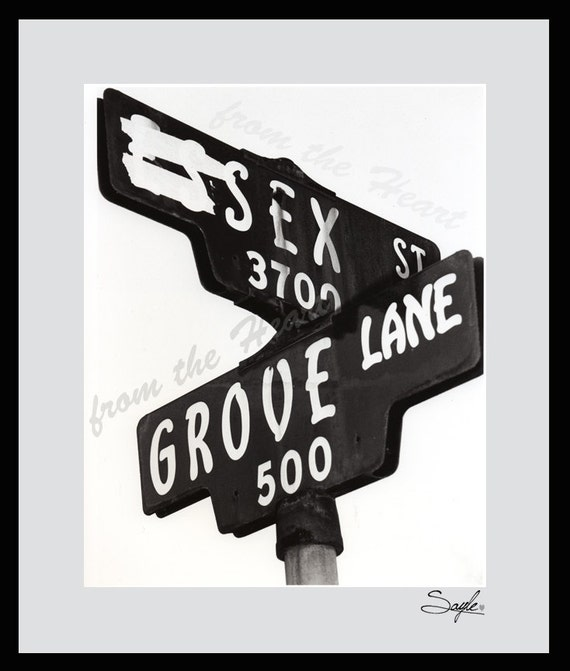 Road Sign Sex 84