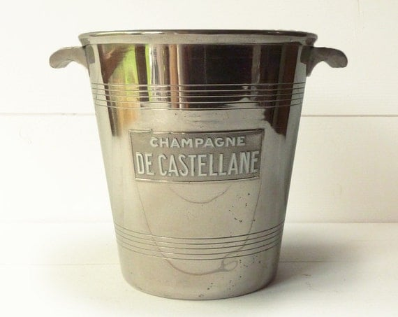 French Champagne Bucket - Cooler - DE CASTELLANE