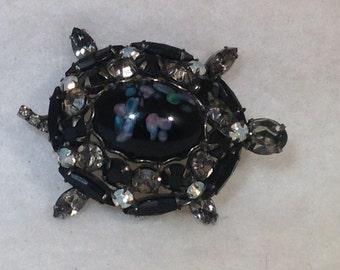 Vintage Juliana Turtle Brooch