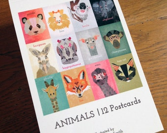ANIMALS | Postcard Book | Limited Edition