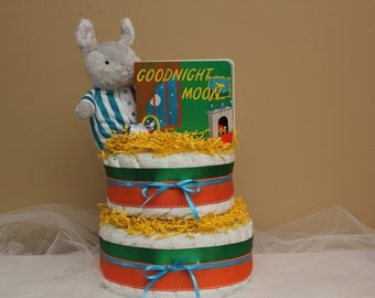 Good Night Moon Diaper Cake