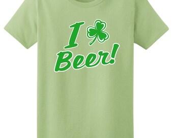 I Shamrock Beer Ladies T-Shirt 2000L-WHS-174