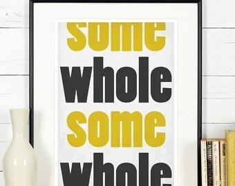 Retro poster, kitchen art, wholesome, minimalist design, kitchen picture, art print, vintage poster, wall hanging, Scandinavian art A4, 8x10