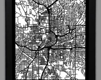 Atlanta Cut Map