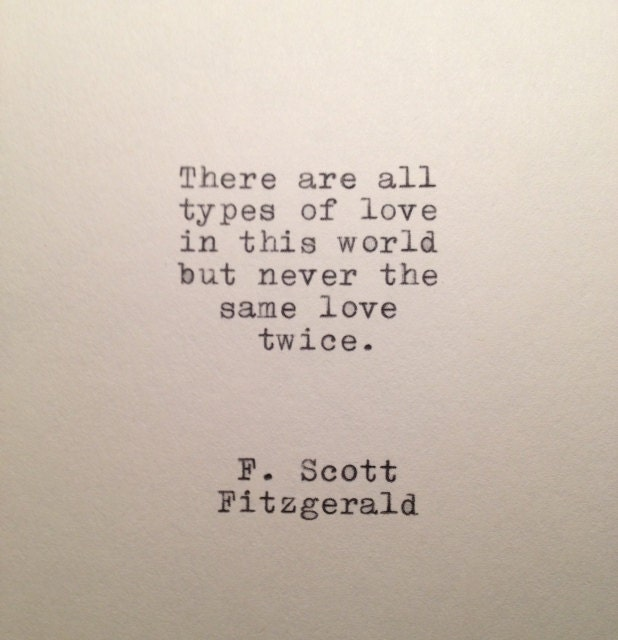 F Scott Fitzgerald Love Quotes F Scott Fitzgerald Lov...