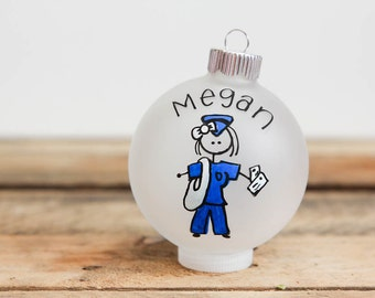 Mailman Profession - Christmas Ornament - Personalized for Free