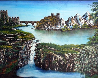 Painting on Canvas - Camelot
