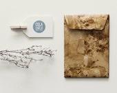 Paper bag with cork look (medium)