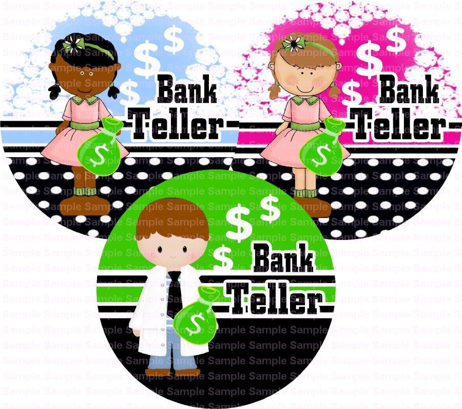 clipart bank teller - photo #36
