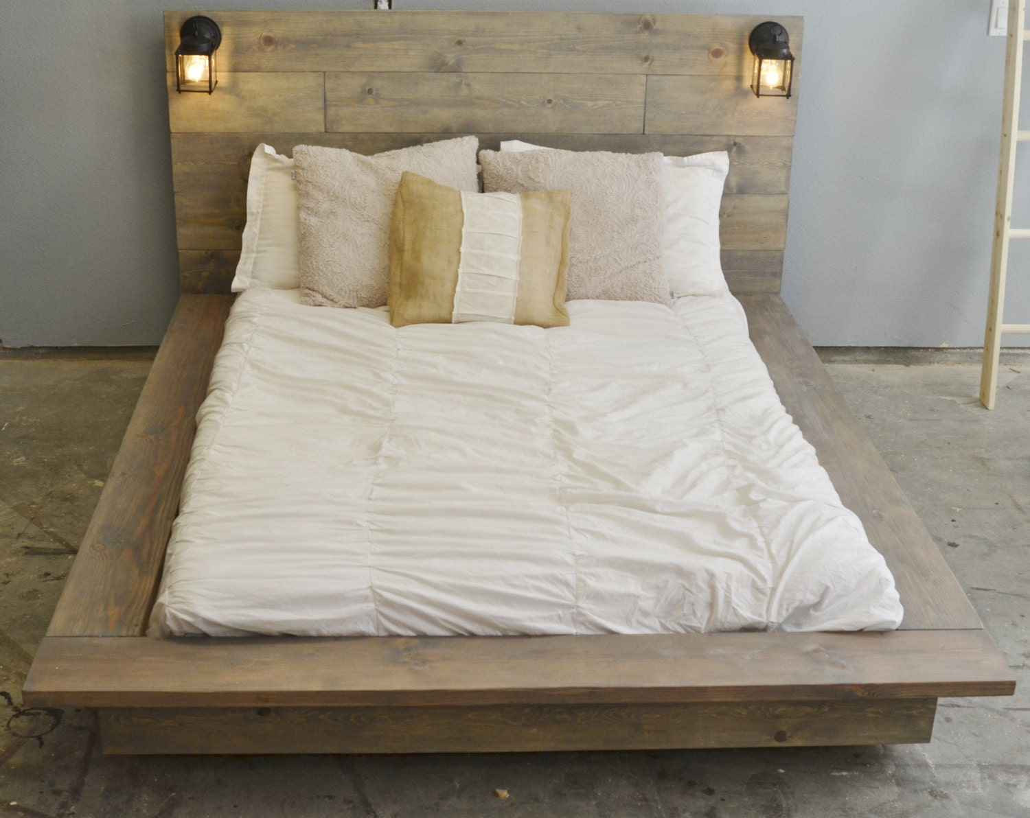 Sale 20 Off Floating Wood Platform Bed Frame With Lighted