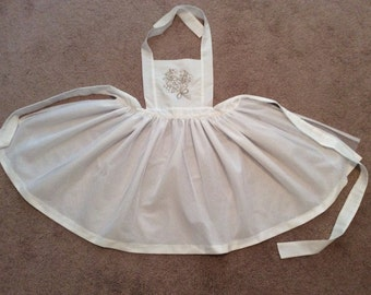 Princess Bride Dress Up Apron