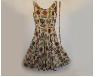 Unique Vintage Dress By Kramer Original