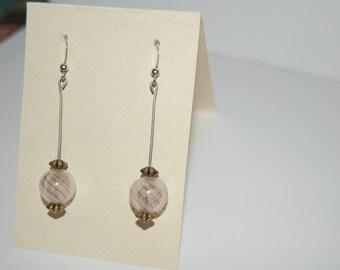 Glass Orb Earrings