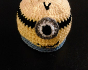Newborn Minion Hat