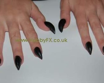 NEW! Vampire FlexiClaws - Semi Flexible Claws for Cosplay, LARP and Halloween