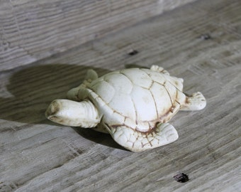 pottery  turtle ... pottery figurine ... clay ... ceramics ... home decor