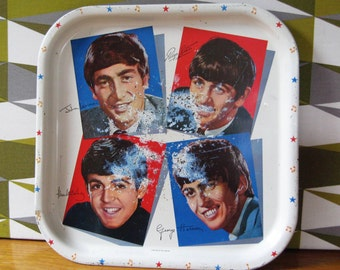 FAB FOUR!! Collectible Original, The Beatles, Serving Tray... 1963.